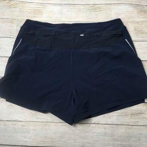 Outdoor Voices Shorts - OUTDOOR VOICES | navy ready set shorts XL
